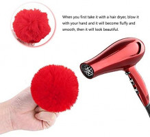 20 Pcs Faux Fur Ball Pom Poms Keychains for Handbag Purse Fluffy Ball (With Lobster Buckle): Shoes