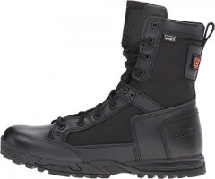 """5.11 Tactical Men's 8"""" Leather Skyweight Side Zip Waterproof Combat Military Boots, Style 12321: Shoes"""