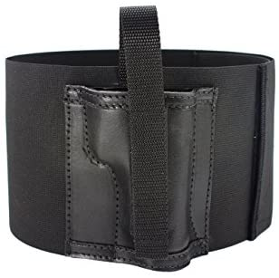 Daltech Force Safestcarry Belly Band Holster - CCW - Concealed Carry Large Gun Holster with Leather Pocket and Mag Holster for Hips, Waist or Chest : Sports & Outdoors