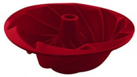 More Cuisine Essentials, Eco-Friendly - Non-Stick- Silicone Bundt Pan. Commercial Grade Silicone Cake Pan; Burgundy Wine: Kitchen & Dining