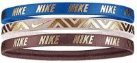 Nike Adult Unisex Logo 3 Pack Hairbands : Clothing