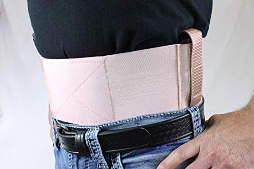 Daltech Force Belly Band Gun Holster - CCW Concealed Carry Gun Holster with Mag Holster - Fits Small and Large Guns : Sports & Outdoors