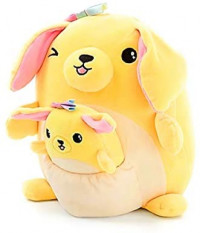 """Justice 8"""" Squishmallows with Pocket Mini Squishmallow in Pouch Stuffed Animal Plush Toy (Squirrel): Toys & Games"""
