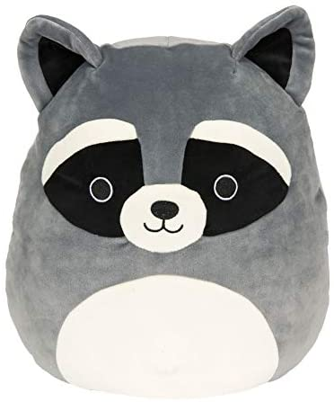 Squishmallow 16 inch Randy The Raccoon- Super Soft Plush Toy Pillow Pet Animal Pillow Pal Buddy Stuffed Animal Birthday Gift Holiday Easter Spring: Toys & Games