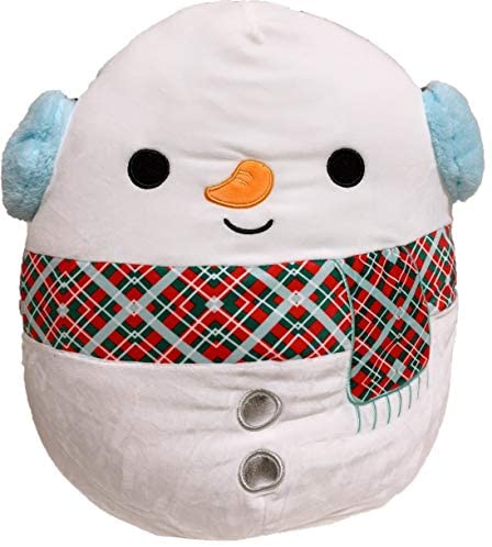 "SQUISHMALLOWS Kellytoy 2020 Christmas Squad Plush Toy (12"" Dawn The Fawn): Toys & Games"