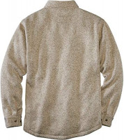 Legendary Whitetails mens The Camp Rebel Sweater Fleece Shirt Jacket: Clothing