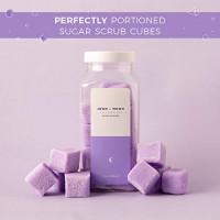 JOON X MOON Sugar Scrub (Lavender, 10.5 Oz -18 Cubes), Exfoliating Body Scrub, Moisturizing Aloe and Shea Butter to Soften and Nourish Skin, Beauty and Self Care Essential, Single Use Scrub Cubes : Beauty