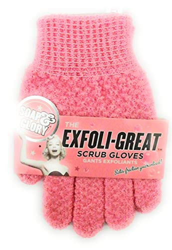 Soap And Glory Super Exfoliating Scrub Gloves Smooth Your Body! One Size : Soap And Glory Super Exfoliating Scurb : Beauty