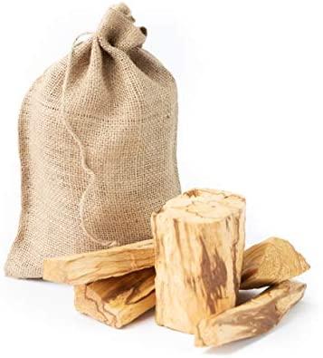 Luna Sundara 1 Pound Bag. Palo Santo from Perú Smudging Sticks Large Chunks, High Resin: Home & Kitchen