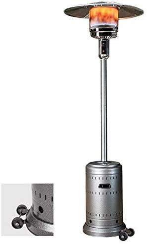 BARONI 46, 000-BTU Propane Patio Heaters, Commercial Outdoor Heater Standing : Garden & Outdoor