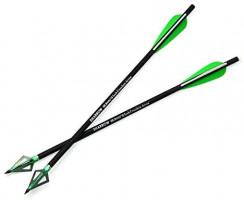 AMEYXGS 6/12pcs Archery Carbon Crossbow Bolt 16/17/20/22 Inch Hunting Carbon Arrow with 3 Fixed Blade Arrowhead for Archery Practise Hunting Crossbow Arrows : Sports & Outdoors