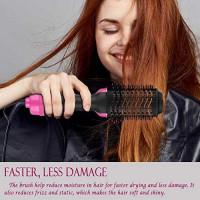 JONEG Hair Dryer Brush, Hot Air Brush, One-Step Hair Dryer & Volumizer Blow Dryer Brush: Health & Personal Care