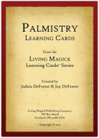 Palmistry Learning Cards - Living Magick Learning Card Series - Self Study Flash Cards: Jadzia DeForest, Jay DeForest: Toys & Games