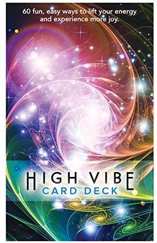 High Vibes Card Deck with 60 Fun, Easy Ways to Connect with Joy and Live Your Best Life. (1 Card Deck): Toys & Games
