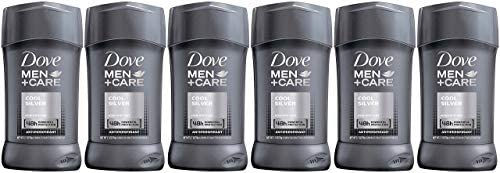 Dove Men+Care Antiperspirant Stick, Cool Silver, 2.7 Ounce (Pack of 6): Health & Personal Care