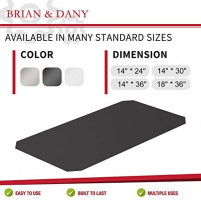 BRIAN & DANY Wire Shelf Liners Set of 5 (Industrial Strength) (14-Inch-by-30-Inch)