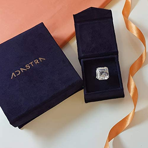 Adastra Jewelry Steal Deal Stylish Swoosh Tooth Gem Solid 925 Sterling Silver Handcrafted (Rose) Prime Jewelry: Jewelry