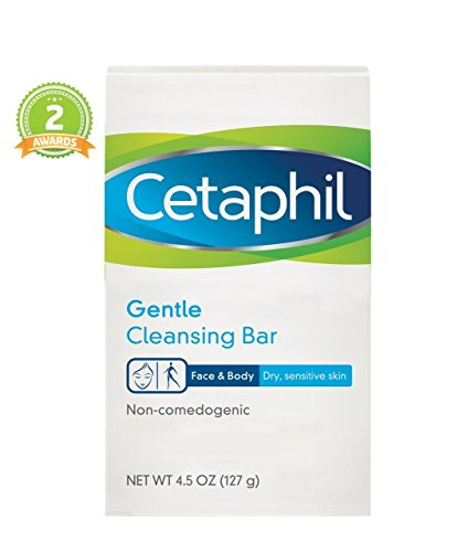 Cetaphil Gentle Cleansing Bar 4.5 (Pack of 2): Beauty