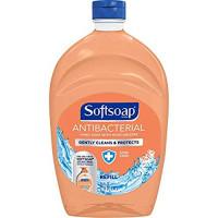 Softsoap Antibacterial Liquid Hand Soap Refill, Crisp Clean, 50 Oz. (Pack of 2) : Beauty