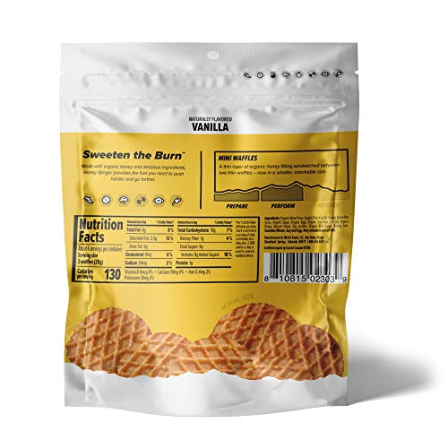 Honey Stinger Mini Waffles – Variety Pack With Sticker – 4 Count – 2 of Each Flavor – Energy Source for Any Activity – Honey & Vanilla - Resealable Bags : Grocery & Gourmet Food