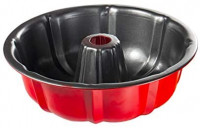 Bunt Pan, Set of 2, 9.5 Inch Perfect Result Fluted Cake Pan, TAOUNOA Nonstick Tube Pan: Kitchen & Dining