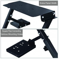 Racing Wheel Stand, Height Adjustable & Foldable Steering Wheal Stand Compatible with Logitech G25,G27,G29,G920 Gaming Cockpit: Kitchen & Dining