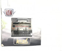 M2 Machines by M2 Collectible 1 of 750 Worldwide Chase Car with Gold or Special Wheels & Unique Design Auto-Mods 1969 Ford F-100 Ranger Truck 1:64 Scale R59 20-27 Black Details Like NO Other!: Toys & Games