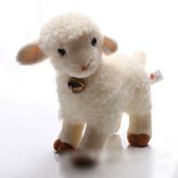 Plush Toys Simulation Sheep Doll Small Wool Velvet Toy Zodiac