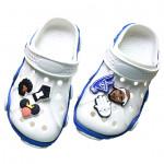 Creative Kaloch Hole Shoes Shoes Flower Crocs Shoe Decorations Zhibixing Cartoon Garden Shoe Buckle