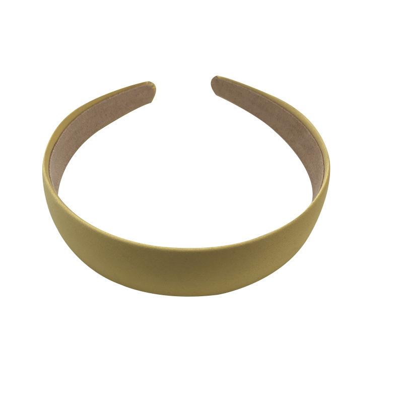 Headwear Pure Color Cloth Headband Basic Base Simple Headband