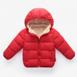 Children's Clothing Men's And Women's Children's Thick Cotton Coat Jackets For Kids Autumn And Winter Plus Velvet Quilted Jackets For Babies And Infants Down Cotton Clothes