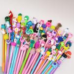 Cartoon Gel Pen Signature Pen Cute Creative Girl Heart Black Pen Student Stationery Promotional Gifts