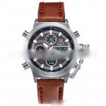 Men's Watch Multi-function Dual Display Watch Waterproof