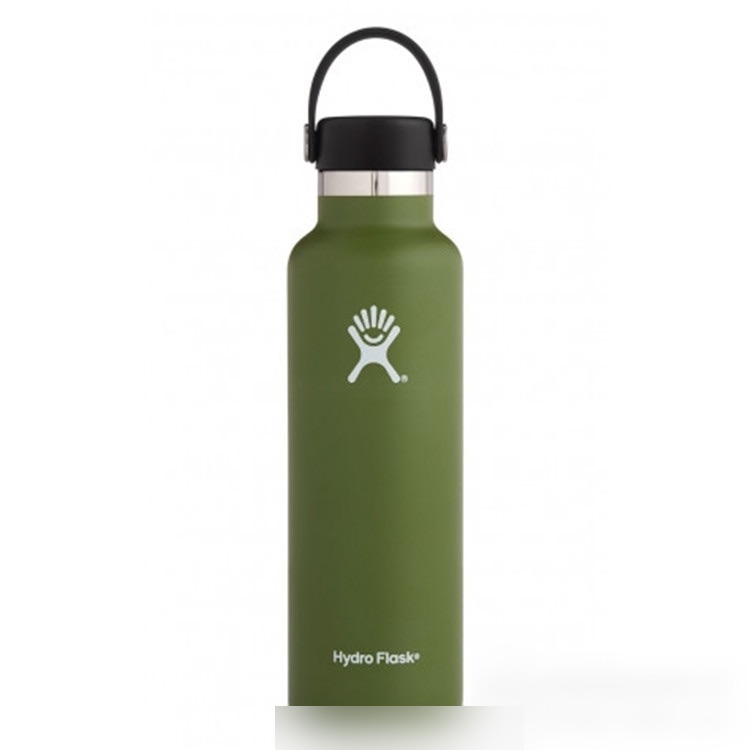 Hot 600ml American Big Mouth Vacuum Flask Double Layer 24oz Stainless Steel Sports Bottle