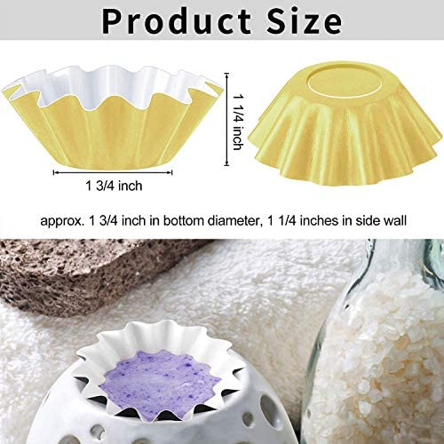 150 PCS Wax Melt Warmer Liners, Reusable Wax Liner & Leakproof Liners, Designed for Wax Warmers, Wax Warmer for Scented Wax, Plug in Warmers, Candle Warmer, Wax Melter, Wax Burner: Kitchen & Dining