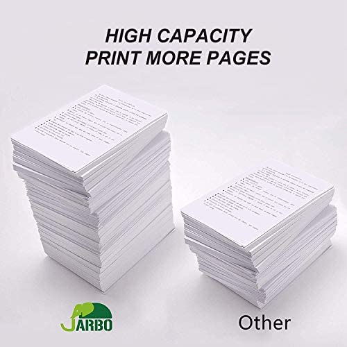 JARBO Remanufactured Ink Cartridge Replacement for Epson 252XL 252 XL T252 T252XL to use with Workforce WF-3640 WF-3620 WF-7110 WF-7710 WF-7720 Printer (4BK, 2C, 2M, 2Y) 10 Packs: Office Products