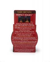 creme of nature argan oil perfect edges dark brown : Beauty