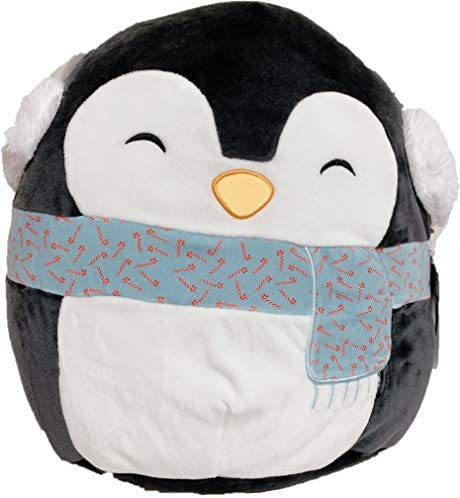 """SQUISHMALLOWS Kellytoy 2020 Christmas 8"""" Luna The Penguin Plush Toy: Toys & Games"""