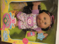 CABBAGE PATCH KIDS AFRICAN AMERICAN CELEBRATE FUN DOLL WITH PINK STREAKED HAIR by Cabbage Patch Kids: Toys & Games