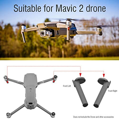 Wavel Drone Landing Gear,Extensions Support Leg Protection Repair Front Arm Spare Left Right Landing Gear for Mavic 2 Drone Accessories: Home & Kitchen