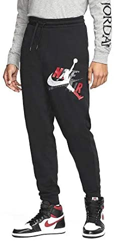 Jordan Jumpman Classics Fleece Mens Pants CK2850-010 Size 2XL at Men's Clothing store