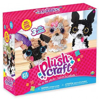 The Orb Factory PlushCraft Puppy Pack (3D): Toys & Games