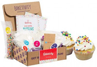 BAKETIVITY Kids Baking DIY Activity Kit - Bake Delicious Bug Cupcakes with Pre-Measured Ingredients – Best Gift Idea for Boys and Girls Ages 6-12: Toys & Games
