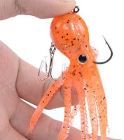 East Rain Artficial Octopus Swimbait with Skirt Tail Lingcod Rockfish Jigs for Saltwater Fishing Big Game (PVC, 3.54/7.87/9.45inch, 0.81/6.35/9.88oz, Mulit-Colors Option) : Sports & Outdoors