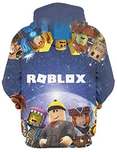 hlhhing Children's Hoodies 3D Print Hoodies Cartoon Hoodie Boys Girls Hoodie Unisex Pullover Sweatshirts: Clothing