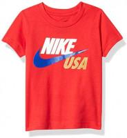 Nike Kids Baby Boy's Short Sleeve Americana Graphic T-Shirt (Toddler): Clothing