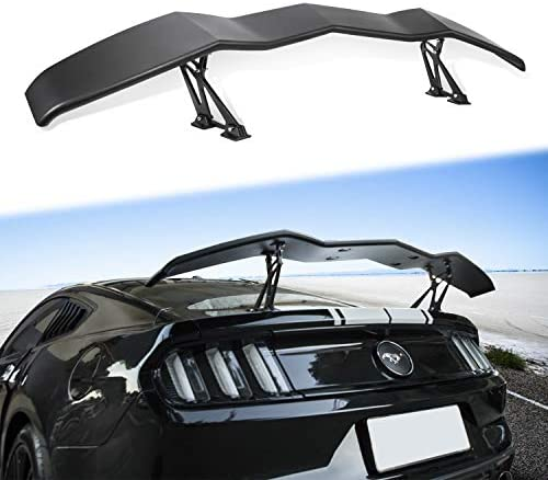 Danti Trunk Wings Spoiler Fits for 2005-2019 Ford Mustang All Models High Kick V Style Rear Spoiler Wing Tail Lid (61.8inches Length): Automotive