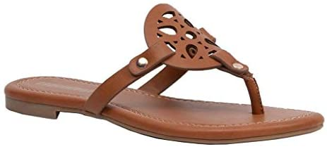 CUSHIONAIRE Women's Cameron Flat Sandal with +Comfort | Flats