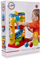 Playkidz Super Durable Pound A Ball Great Fun for Toddlers - STEM Developmental Educational Toys - Great Birthday Gift: Toys & Games