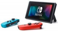 "Newest Nintendo Switch 32GB Console with Neon Blue and Neon Red Joy-Con, 6.2"" Touchscreen 1280x720 LCD Display, 802.11AC WiFi, Bluetooth 4.1, Bundled with TSBEAU 19 in 1 Carrying Case Accessories: Computers & Accessories"